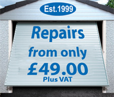 Garage Door Repairs Advert